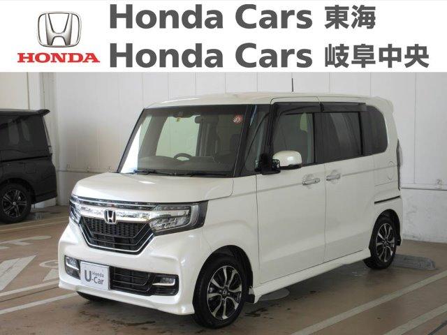 Honda N-BOXカスタム G・EXホンダセンシング|大垣禾森店
