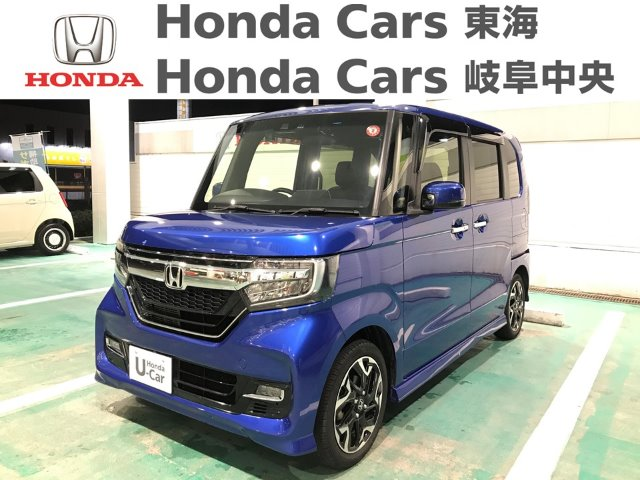 Honda N-BOXカスタムGLターボSENSING|鵜沼西店