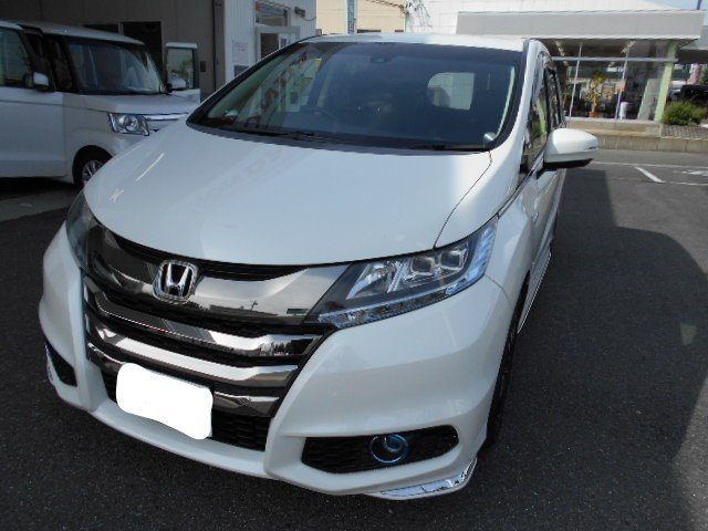Honda オデッセイHYBRID アブソルート HondaSENSING EX|岐阜東バイパス店