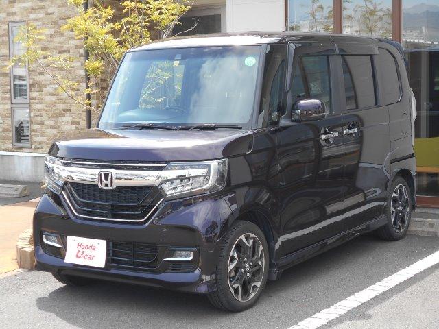 Honda N-BOXカスタムG Lターボ ホンダセンシング U-Carテラス