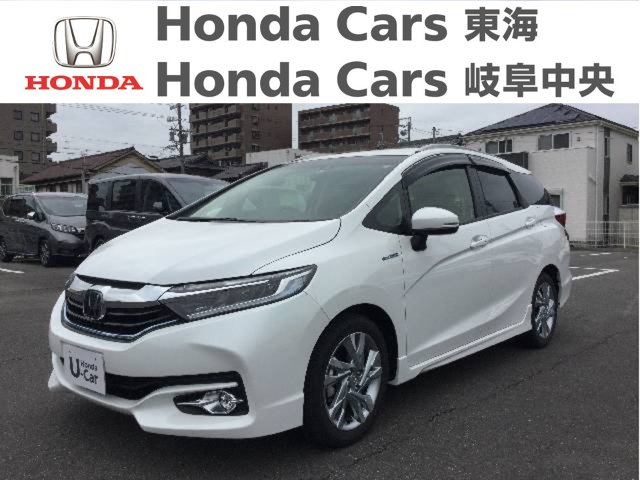 Honda シャトルハイブリッド Zホンダセンシング|名和店