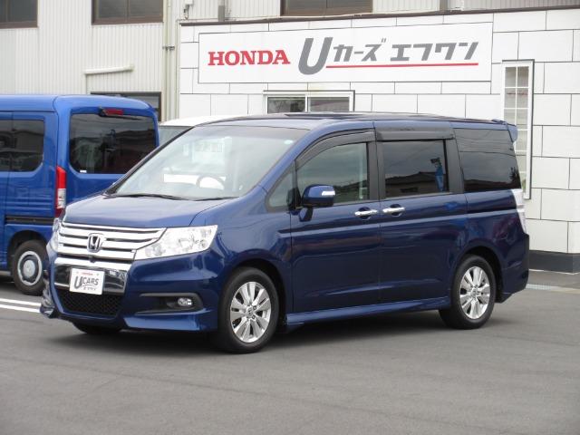 Honda ステップワゴンスパーダZ HDDナビエディション 8人|第2展示場