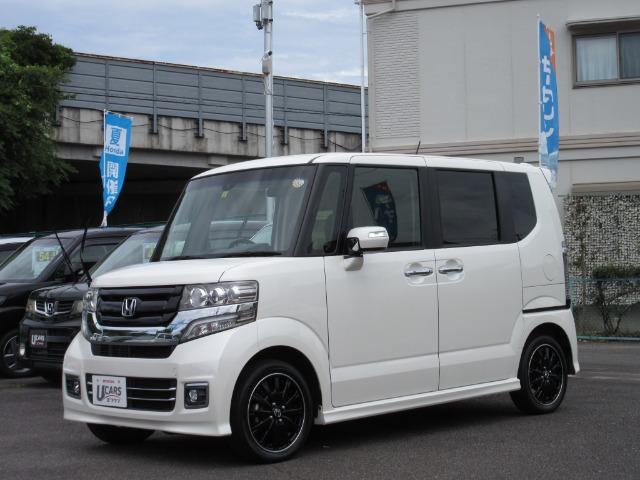 Honda N-BOXカスタム ターボ SSブラックスタイルPKG|第2展示場