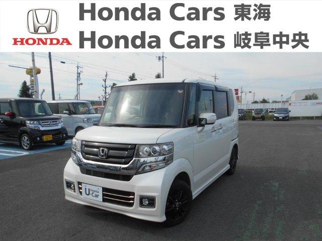 Honda N-BOXカスタムSS ブラックスタイルパッケージ 稲沢店